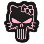Patch PVC Skull Kitty