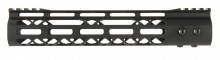 Aluminium Speed Skeleton M-LOK 10' hand guard Black