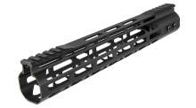 Garde main Aluminium Speed Skeleton M-LOK 12' Noir