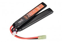 7,4V 2000mAh 15C double stick Lipo battery