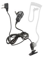 Discrete earpiece with acoustic tube for Midland G9