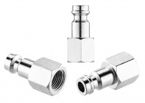 Coupler HPA male 1/8 NPT output with female inlet