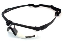 Battle Pro Thermal Black / Clear Glasses with Insert - Nuprol