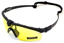 Battle Pro Thermal Sunglasses Black / Yellow with insert - Nuprol