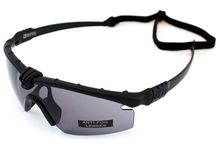 Battle Pro Thermal Black / Smoke Glasses with Insert - Nuprol