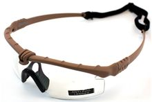 Battle Pro Thermal Tan / Clear Glasses with Insert - Nuprol