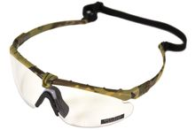 Lunettes Battle Pro Thermal Camo/Clear avec insert - Nuprol