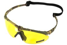 Photo Lunettes Battle Pro Thermal Camo/Jaune avec insert - Nuprol