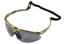 Battle Pro Thermal Camo / Smoke Glasses with Insert - Nuprol