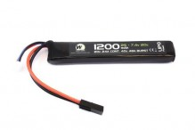 7.4v / 1200mah 20c LiPo battery 1 stick