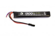 LiPo Battery 11.1v / 1300 mah 20c 1 stick