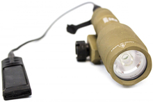 Photo Lampe tactical pistolet nx600s tan - Nuprol