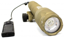 Tactical pistol lamp nx600l tan - Nuprol