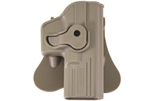 Holster rigide EU serie Tan