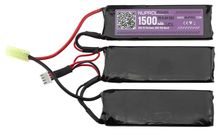 Li-Fe power battery 9.9 v 1500mh 25c nunchunck