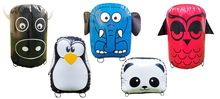 Kit of 5 inflatable animals
