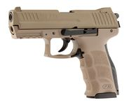 Photo Pistolet 9 mm à blanc HK P30 Tan FDE