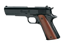 9mm pistol with white Chiappa 911 bronzed