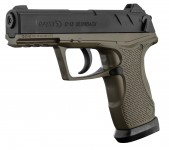 Pistolet CO2 C-15 Green Blowback Cal 4.5
