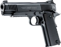 Colt M45 CO2 pistol black CQBP BB's cal 4.5 mm