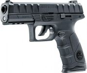 Photo Pistolet CO2 Beretta APX noir BB's cal. 4,5 mm