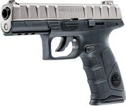 Photo Pistolet CO2 Beretta APX chrome BB's cal. 4,5 mm