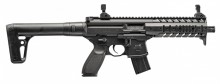 Photo Rifle Sig Sauer MPX Co2 4.5mm Leads