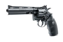 Photo Revolver CO2 Colt Python 6'' noir cal. 4,5 mm