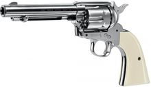 Photo Revolver CO2 Colt Simple Action Army 45 nickel cal. 4.5 mm