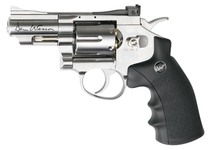 Photo Revolver CO2 Dan Wesson silver 2,5'' BB's cal. 4,5 mm