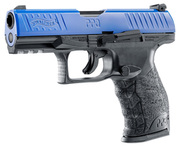 Photo Pistolet CO2 Walther PPQ M2 T4E noir/bleu cal. 43