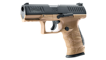 Photo Pistolet CO2 Walther PPQ M2 T4E tan cal. 43