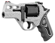 Photo Revolver Chiappa Rhino 30 DS 3'' White Cerakote Edition limitée