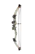 Bow Shoot Again compound M107 dark camo