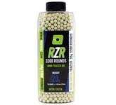 Photo Billes RZR 0.20g bouteilles 3300bb TRACER vertes - Nuprol