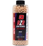Billes Airsoft 6mm RZR 0.20g bouteilles 3300 bbs TRACER rouges