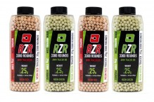 Photo RZR TRACER balls in bottle of 3300 - Nuprol