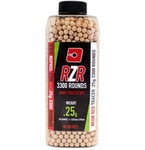 Billes Airsoft 6mm RZR 0.25g bouteilles 3300 bbs TRACER rouges