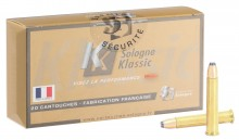 375 H & H Sologne Centerfire bullet cartridges with armored GPA bullet