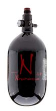 Ninja Kevlar Bottle 1. 1l Black with standard regulator 4500 psi