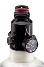 Kevlar Ninja bottle 1. 1l gray with ultralite regulator 4500 psi