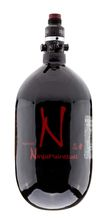 Kevlar Ninja Bottle 1. 1l Black with pro regulator 4500 psi