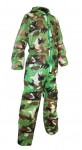 Camo adult disposable coverall XL