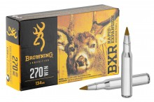Munition grande chasse Browning cal. 270 Win