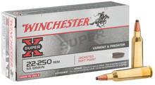 Munition grande chasse Winchester Cal. 22-250 REM