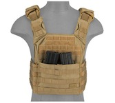 Gilet Plate Carrier SPAC Tan 1000D