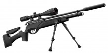 Photo Gamo HPA PCP + 6-24x50 rifle pack + silencer + bipod