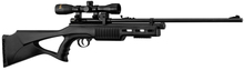 QB78S Co2 Rifle + 9 pellets mag & 4x32 scope with mount - 19,9J