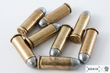 Replicas dummy pistol bullets .45 USA 1880