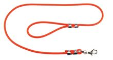 Leash 1.20 m Orange Tubular Biothane for Dog - Helen Baud